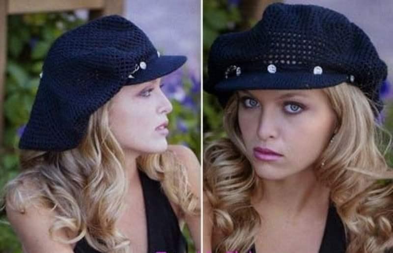 женская кепка спицами вязание кепки крючком женская кепка крючком