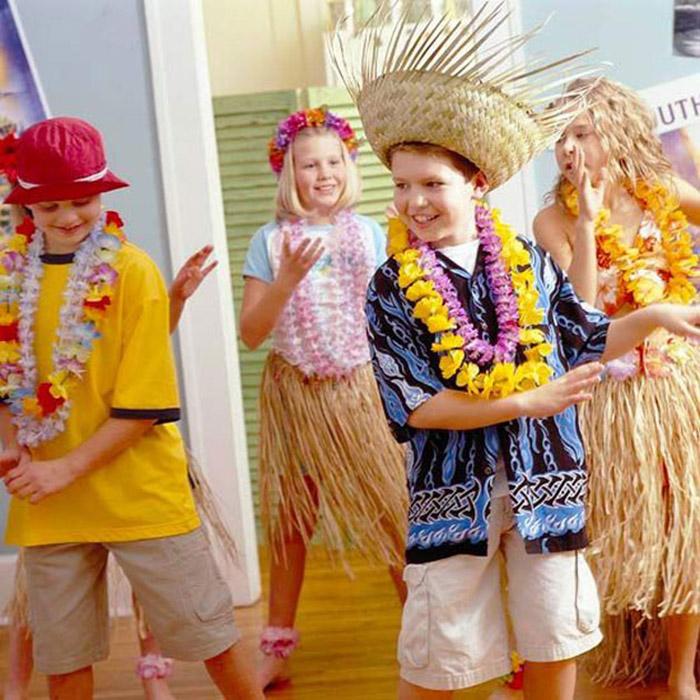 Сценки поздравления по гавайски
