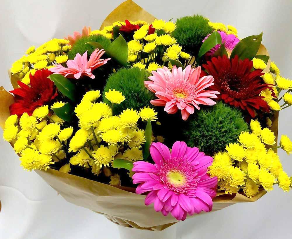 картинка шикарный букет хризантем своим будущим мужем