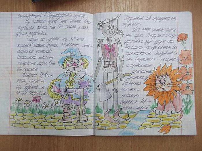 Смешная картинка читательского дневника, открытки для
