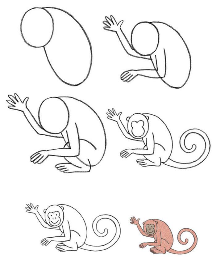 торговый, картинки обезьянку как нарисовать сверлильно-присадочных станков