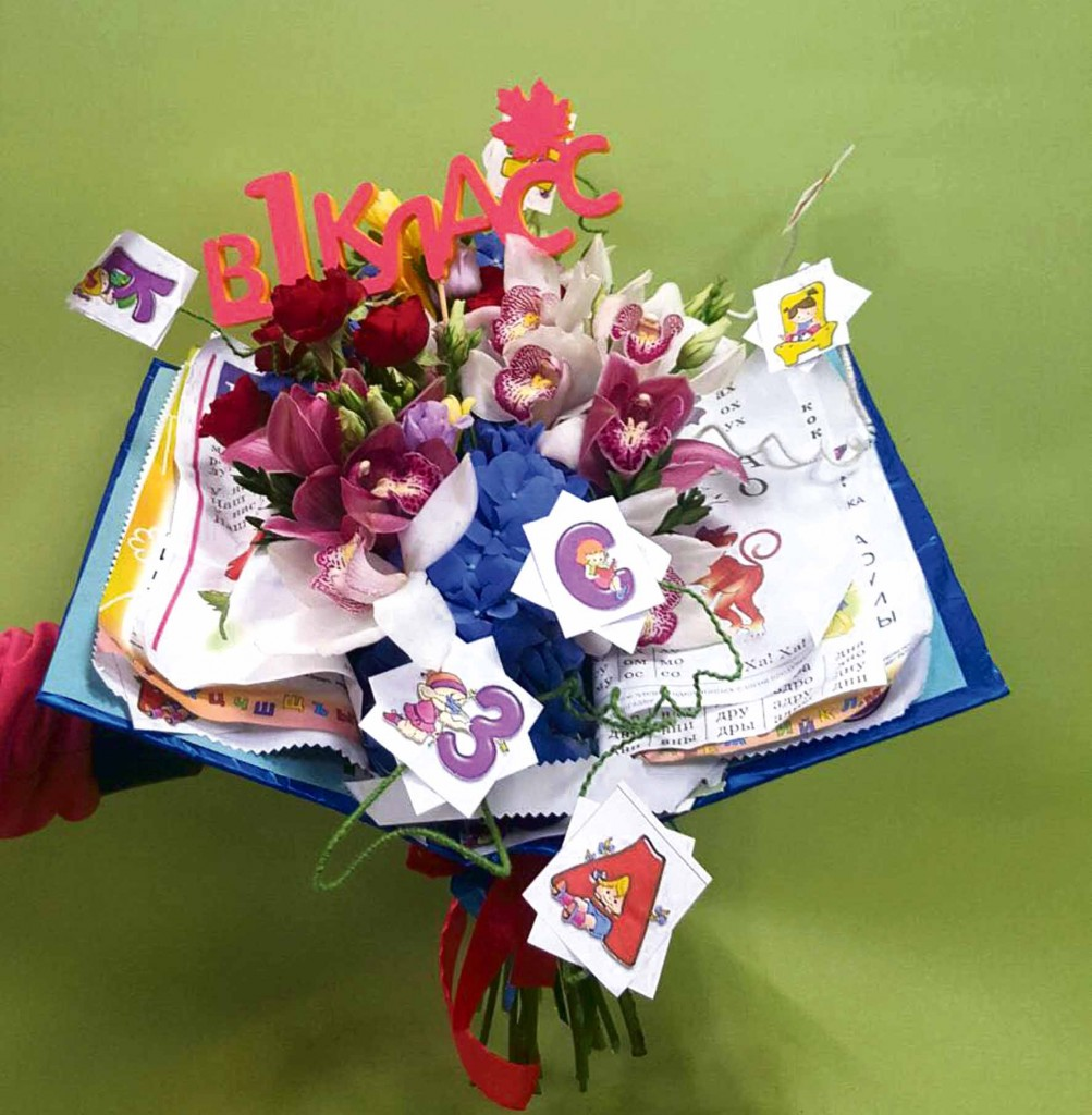 Тематические букеты для учителя, для изготовления букетов