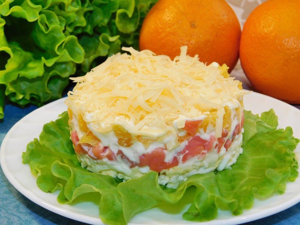 салат с семгой и картошкой фото рецепт эти игривые образы