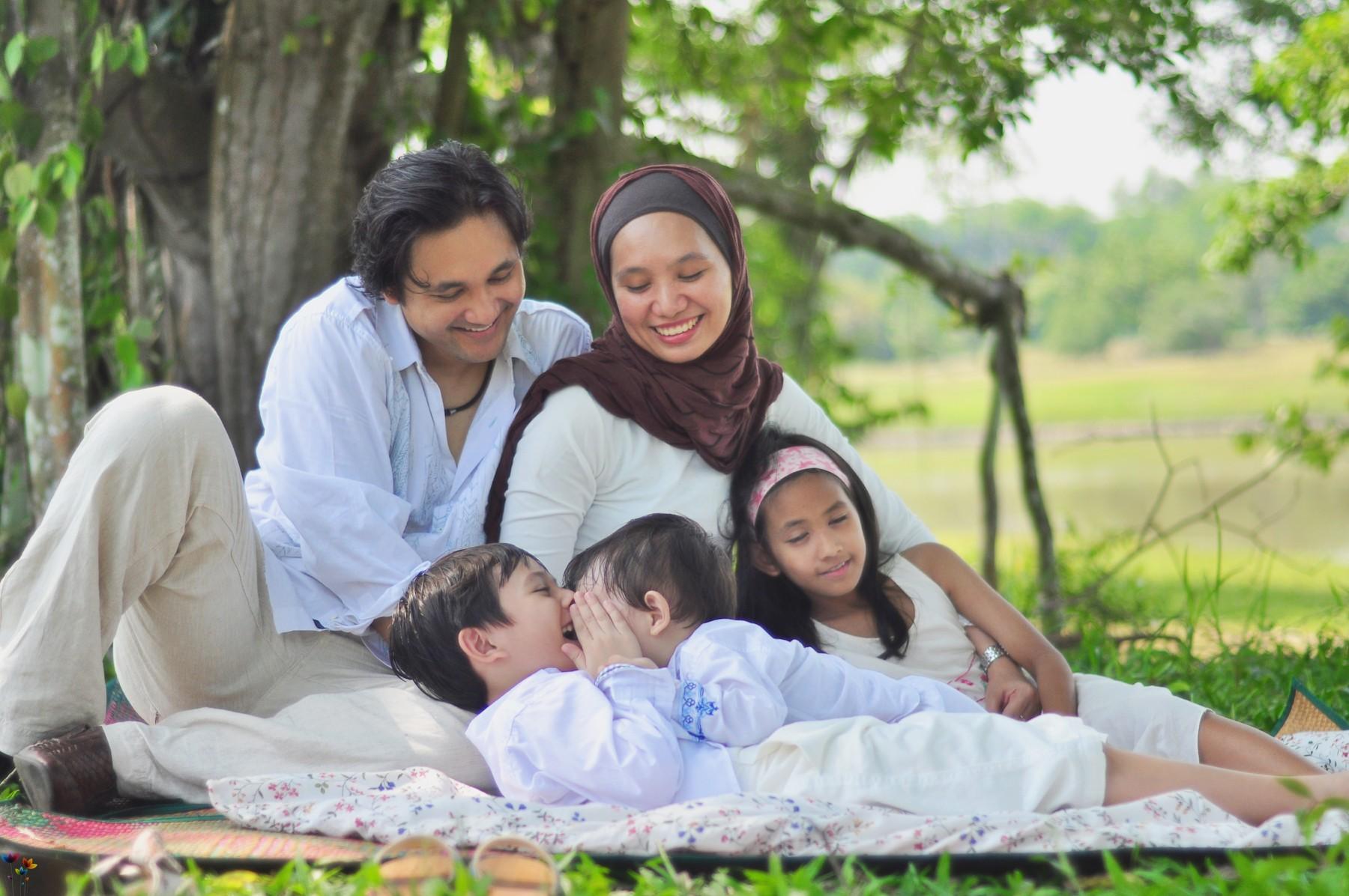 Картинки исламские семейный