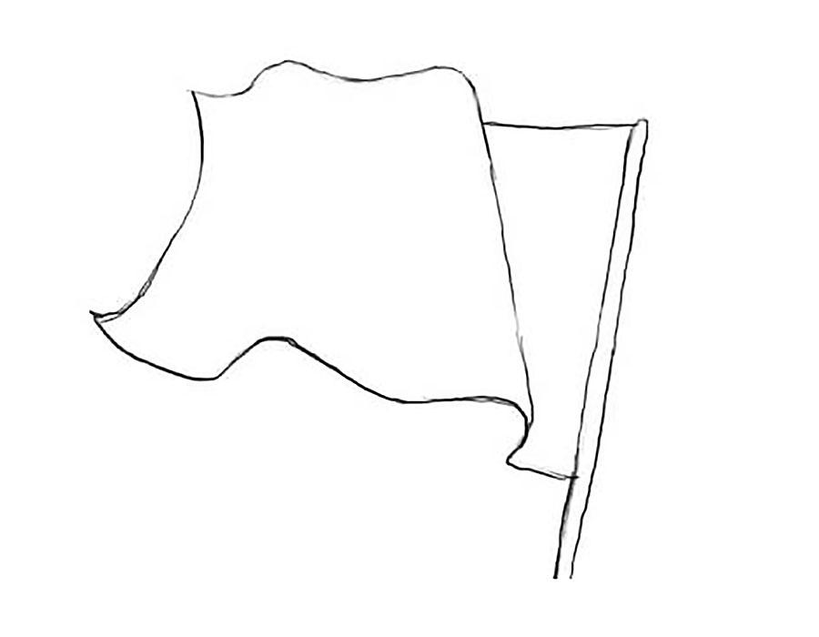 картинка флага россии для раскраски фудфотограф