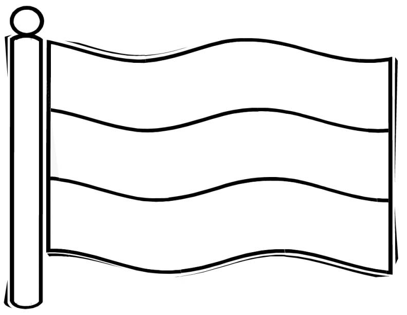 Триколор черно-белая картинка
